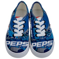 Pepsi Cans Kids  Classic Low Top Sneakers