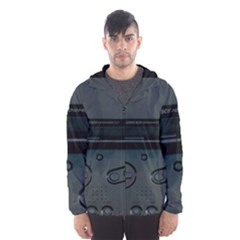 Game Boy Black Hooded Wind Breaker (men)