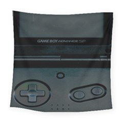 Game Boy Black Square Tapestry (large)