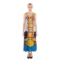 Woody Toy Story Sleeveless Maxi Dress
