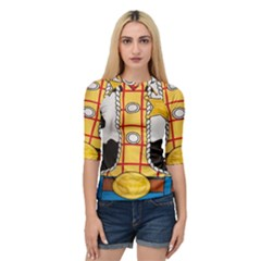 Woody Toy Story Quarter Sleeve Raglan Tee