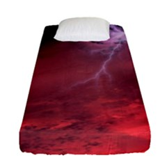Storm Clouds And Rain Molten Iron May Be Common Occurrences Of Failed Stars Known As Brown Dwarfs Fitted Sheet (single Size) by Sapixe