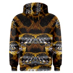 Textures Snake Skin Patterns Men s Pullover Hoodie