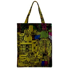 Technology Circuit Board Classic Tote Bag