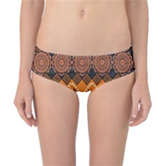 Traditiona  Patterns And African Patterns Classic Bikini Bottoms by Sapixe
