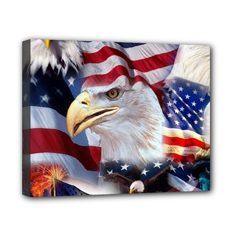 United States Of America Images Independence Day Canvas 10  X 8  by Sapixe