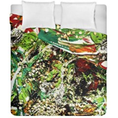 April   Birds Of Paradise 5 Duvet Cover Double Side (california King Size) by bestdesignintheworld