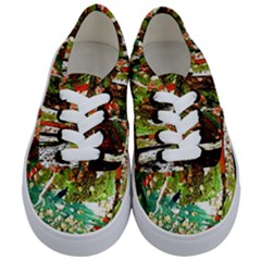 April   Birds Of Paradise Kids  Classic Low Top Sneakers
