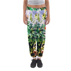 Plant In The Room  Women s Jogger Sweatpants by bestdesignintheworld