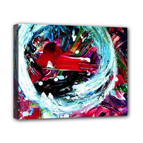 Red Aeroplane Canvas 10  X 8  by bestdesignintheworld
