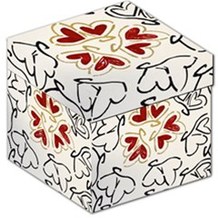 Love Love Hearts Storage Stool 12   by Oniriks