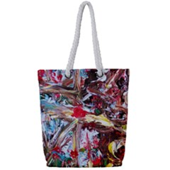 Dscf2301  Eden Garden Full Print Rope Handle Tote (small)