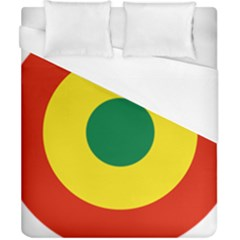 Roundel Of Bolivian Air Force Duvet Cover (california King Size) by abbeyz71