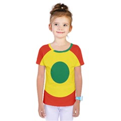 Roundel Of Bolivian Air Force Kids  One Piece Tee by abbeyz71
