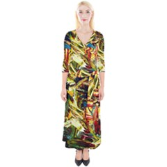 Dscf2289   Mountain Road Quarter Sleeve Wrap Maxi Dress