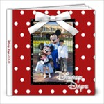 Disney Days 2008 - 8x8 Photo Book (20 pages)