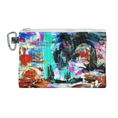 Dscf3313   Jerusalem   Gates Of Haven Canvas Cosmetic Bag (large) by bestdesignintheworld