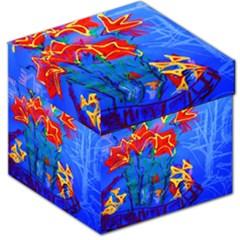 Dscf1433   Red Lillies Storage Stool 12   by bestdesignintheworld