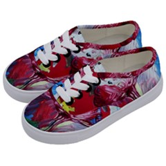 Dscf1741   Funny Clown Kids  Classic Low Top Sneakers by bestdesignintheworld