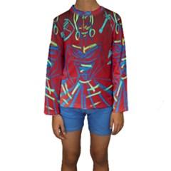 Dscf1442   Californian Girl Kids  Long Sleeve Swimwear