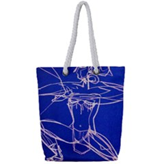 Dscf2003   Amasonka Full Print Rope Handle Tote (small)