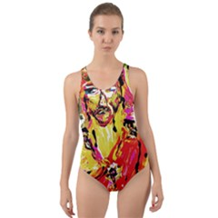 Dscf1584   Alexander   The Great Cut Out Back One Piece Swimsuit