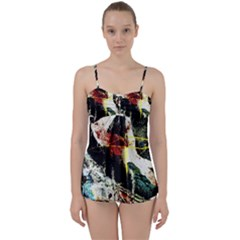 Egg In The Duck   Needle In The Egg Babydoll Tankini Set