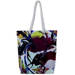 Immediate Attraction 9 Full Print Rope Handle Tote (small)