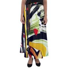 Grave Yard 5 Flared Maxi Skirt by bestdesignintheworld