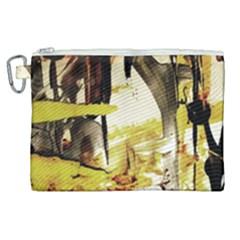Alligator 3 Canvas Cosmetic Bag (xl) by bestdesignintheworld