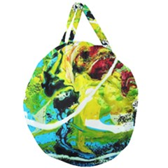 New Moon 6 Giant Round Zipper Tote