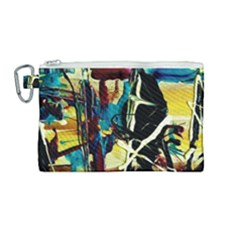 Dance Of Oil Towers 2 Canvas Cosmetic Bag (medium)