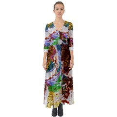 Doves Matchmaking 11 Button Up Boho Maxi Dress