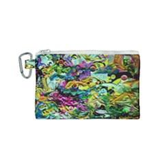 There Where Alice Took A Walk 5 Canvas Cosmetic Bag (small)