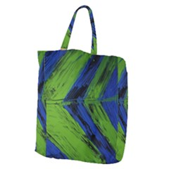 Point Of Equilibrium 2 Giant Grocery Zipper Tote
