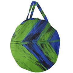 Point Of Equilibrium 2 Giant Round Zipper Tote by bestdesignintheworld