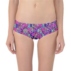 Flower Of Life Paint Pattern 10 Classic Bikini Bottoms by Cveti