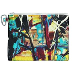 Dance Of Oil Towers 4 Canvas Cosmetic Bag (xxl) by bestdesignintheworld