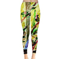 House Will Be Built 4 Leggings  by bestdesignintheworld