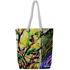 House Will Be Built 4 Full Print Rope Handle Tote (small)
