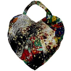 Wet Kiss 2 Giant Heart Shaped Tote
