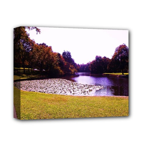 Highland Park 7 Deluxe Canvas 14  X 11  by bestdesignintheworld