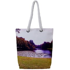 Highland Park 7 Full Print Rope Handle Tote (small)