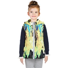 Light Of Candles Chandellier 8 Kid s Hooded Puffer Vest