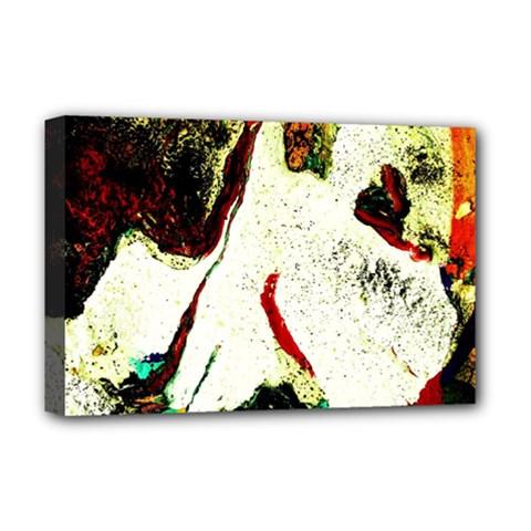 Skull 2 Deluxe Canvas 18  X 12   by bestdesignintheworld