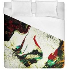 Skull 2 Duvet Cover (king Size) by bestdesignintheworld