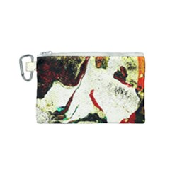 Skull 2 Canvas Cosmetic Bag (small)