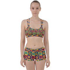 Artwork By Patrick Squares 4 Women s Sports Set