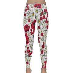 Poppy And Daisy Print Classic Yoga Leggings