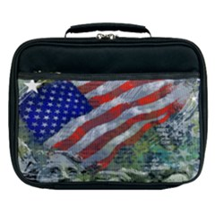 Usa United States Of America Images Independence Day Lunch Bag by Sapixe